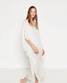 Image 2 of EMBROIDERED KAFTAN from Zara