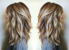 golden blonde balayage hair color ash blonde golden blonde icy highlights beach blunt lob haircut