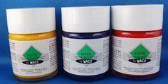 3 x Stoffmalfarbe Waco Textil