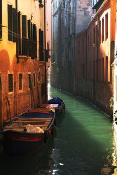 Waterways.