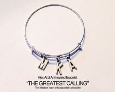 Alex And Ani Inspired Bracelet.  The by JewelryImpressions on Etsy