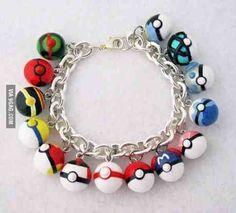 Pokeball bracelet