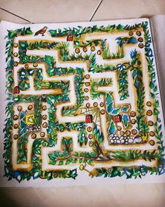 Maze enchanted forest by Nur Syenzwani Omar