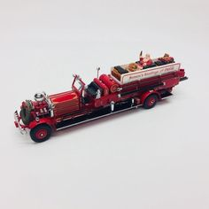Matchbox Diecast 1930 Ahrens Fox Fire Engine YYM35193 Christmas Coca Cola Santa  | eBay