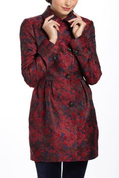 Berta Brocade Jacket! Keeping you warm and #instyle