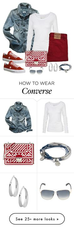"""""""Untitled #976"""" by gallant81 on Polyvore featuring Madewell, Fat Face, Hollister Co., Converse, Prada, Lizzy James, Robert Lee Morris and Tom Ford"""