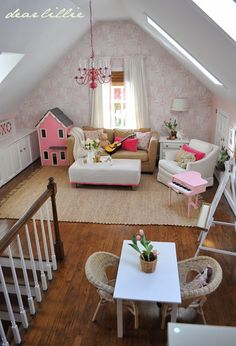 Dear Lillie: Our Very Pink Playroom
