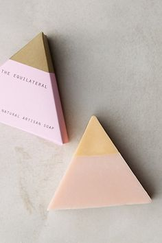 Equilateral Soap Bar #anthropologie such a cute stocking stuffer