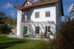 Terrassenüberdachung VSG-Verglasung und Aluminium-Konstruktion