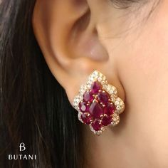 Butani Jewellery.  Sparkle and shine in rubies, rose gold and diamonds.