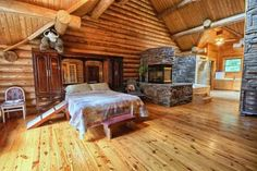 26 Best Luxury Homes For Sale In Michigan images   Log cabin