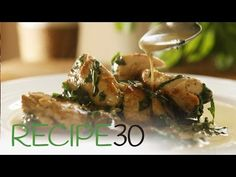 Creamy Garlic Parmesan Chicken – Easy Meals with Video Recipes by Chef Joel Mielle – Healthy Vegan Snacks, Healthy Foods To Eat, Healthy Cooking, Cooking Recipes, Chicken Recipes Video, Healthy Chicken Recipes, Healthy Dinner Recipes, Easy Recipes, Garlic Parmesan Chicken