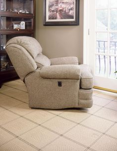 Smith Brothers Recliners Tilt Back Chair   503 47 L   Rugged Leather Great  For A Lodge Or Country Look. Available In 600 Fabrics And Over 70 Leatu2026
