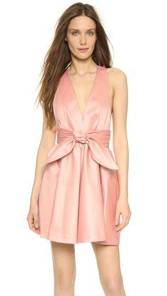 Rachel Zoe Beck Sleeveless Tie Waist Dress