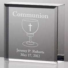 Tiny Treasures Communion Plaque