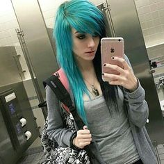 Cabello Cute Scene Girls, Cute Emo Girls, Goth Girls, Emo People, Alex Dorame, Emo Scene Hair, Goth Hair, Alternative Hair, Cosplay