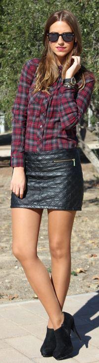 #Black & #Tartan by Lady Framboise