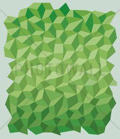 Green Polygon Background, 158,00€