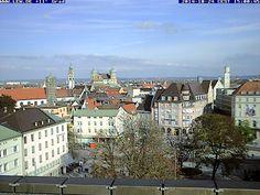 Der Himmel über #Augsburg #Bayern #Wetter