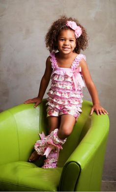 Floral Pettiromper Set w/ Matching Leg Warmers - This shop is soooo cute and inexpensive. - Sparkle In Pink-