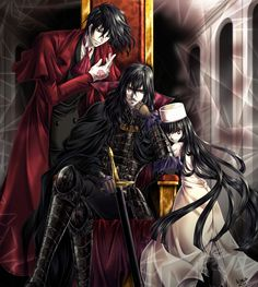 Tags: Anime, Fanart, Hellsing, Pixiv, Alucard (Hellsing)