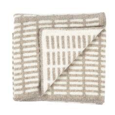 Siena blanket, natural-white, by Artek.