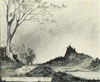 Illustration from sleeping beauty the castle by William Mitcheson Timlin