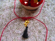 χειροποίητο γούρι λασάκι '17 σε μπορντώ χρώμα! κωδικός: ΧΡ1