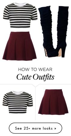 """Cute outfit"" by unicorn-636 on Polyvore featuring Topshop"
