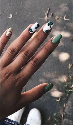 98 beautiful and amazing nail art for the summer page 14 - Nageldesign - Nail Art - Nagellack - Nail Polish - Nailart - Nails - Summer Acrylic Nails, Spring Nail Art, Cute Acrylic Nails, Cute Nails, Spring Makeup, Classy Nails, Cute Summer Nails, Acrylic Nail Designs For Summer, Nail Designs Spring