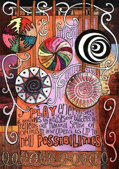 Art Journaling Teesha Moore | Teesha Moore | AJ's Art Journaling