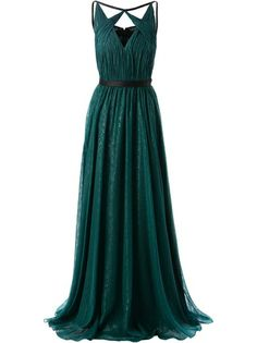 JASON WU silk lame gown and other apparel, accessories and trends. Browse and shop 11 related looks. Dark Green Prom Dresses, Long Green Skirt, Long Silk Skirt, Green Dress, Green Maxi, Flared Skirt, Long Dresses, Evening Dress Long, Green Evening Gowns