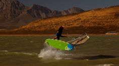 Only waves? Cape Town is great for freestyle too ► #windsurfing #windsurfspots #windsurftravel