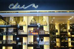 The store provides leather footwear, bags, handbags, purses and accessories in classic and contemporary styles