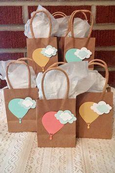 Bolsas de mini favor/regalo de globo de por ParentStreetBoutique