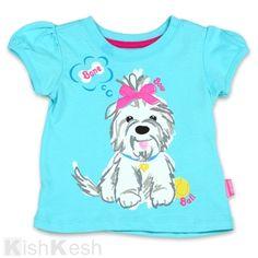 Watch Me Grow girls dog print t-shirt #SesameStreet #Clothing #TShirts