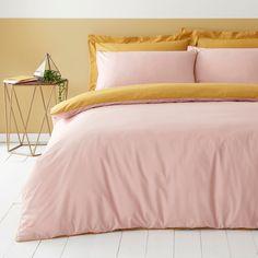 Bedroom Colour Palette, Bedroom Color Schemes, Bedroom Colors, Home Decor Bedroom, Bedroom Ideas, Pink Green Bedrooms, Bedroom Orange, Green Rooms, 100 Cotton Duvet Covers