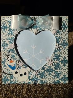 Picture Frame Disney's Frozen Inspired Elsa by onlyadreamBoutique, $10.00
