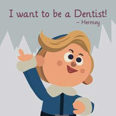 But until Hermey is a #dentist, come visit #KnollwoodDental :) #Rudolph #MerryChristmas #ChristmasEve