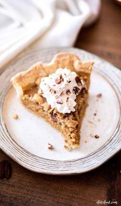 Savory Pumpkin Recipes, Homemade Pumpkin Pie, Pecan Recipes, Fall Recipes, Holiday Recipes, Cream Cheese Pie Crust Recipe, Classic Pumpkin Pie Recipe, Candied Pecans Recipe, Apple Butter