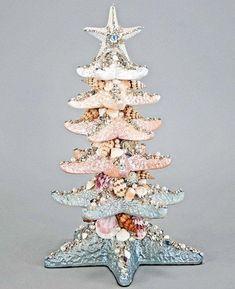 Glitter Fantasy Layered Starfish Tree