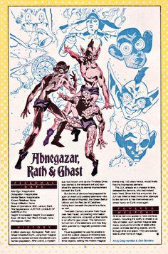 Abnegazar, Rath & Ghast