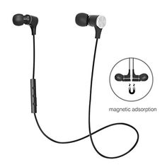 Bluetooth In Ear Headphones Wireless Earbuds Sports Magnetic Earphones with Built-in Mic (Sweatproof with Splash Proof Rating, Stereo, Up to 7 Hours Talk Time) For Sale Workout Headphones, Wireless Headphones For Tv, Best Noise Cancelling Headphones, Running Headphones, Headphones With Microphone, Sports Headphones, Headphone Holder, Headphone With Mic, Wireless Backup Camera