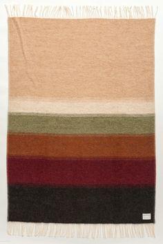Álafoss Interior Wool Blanket - Perspective 1061. Made of 100% pure Icelandic Wool. Designed by Védís Jónsdóttir.
