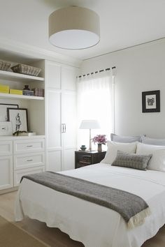bedroom | built-in closet storage + palette | SIMO Design