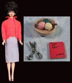 1959-62 Barbie - Sweater Girl #976