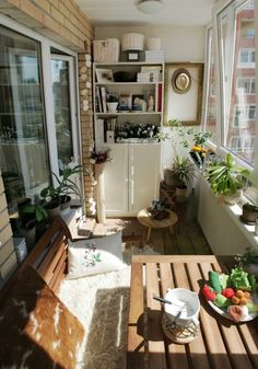 Ideas For Apartment Balcony Decorating Ikea Small Spaces Apartment Balcony Garden, Apartment Balcony Decorating, Apartment Balconies, Apartment Walls, Balcony Gardening, Rustic Apartment, Cozy Apartment, Indoor Gardening, Apartment Ideas