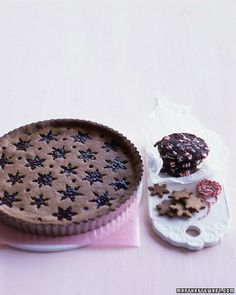 we shall make this. and call it: Bob the Gingerbread Linzertorte. Thanks Martha.