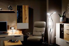 LED Stehlampe HAMPTON modern für das Wohnzimmer