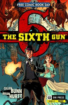 Gun slinging cowboys and the eternal forces of damnation form an unlikely match made in hell as Brian Hurtt and Cullen Bunn conduct a symphony of evil swirling around an innocent girl and a mysterious gun in a rollercoaster of a genre mash up.